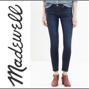 Madewell Skinny Skinny Mid Rise Dark Blue  Jeans